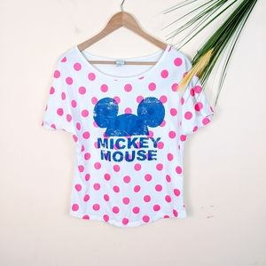 Disney Mickey Mouse top